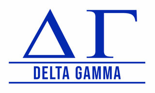 Delta Gamma Custom Sticker - Personalized