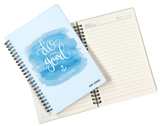 Delta Gamma Custom Watercolor Notebooks
