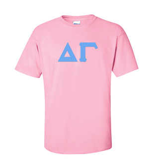 Delta Gamma Discount Twill Lettered Tee