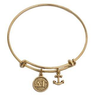 Delta Gamma Expandable Bracelet