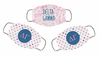 Delta Gamma Face Mask Trio Set