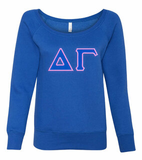 Delta Gamma Fleece Wideneck Sweatshirt