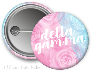 Delta Gamma Floral Button