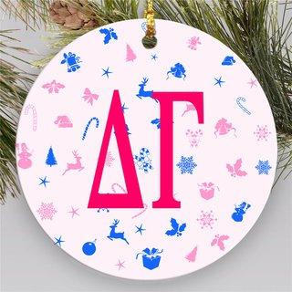 Delta Gamma Holiday Cheer  Ornaments