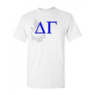 Delta Gamma Greek Crest - Shield T-Shirt