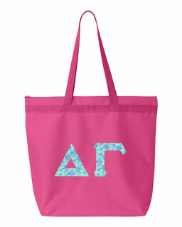 Delta Gamma Greek Letter Liberty Bag