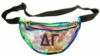 Delta Gamma Holographic Fanny Pack