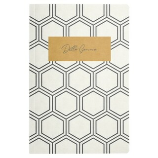Delta Gamma Honeycomb Notebooks