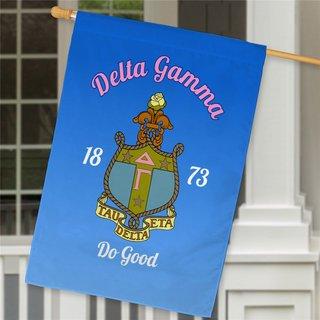 Delta Gamma House Flag