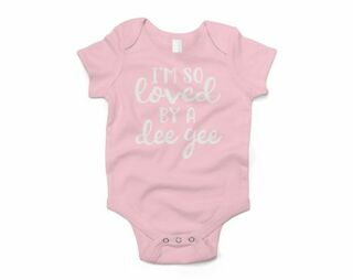 Delta Gamma I'm So Loved Baby Outfit Onesie