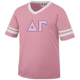 DISCOUNT-Delta Gamma Jersey With Custom Sleeves