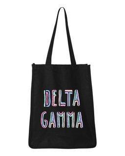 Delta Gamma Jumbo All In Tote Bag
