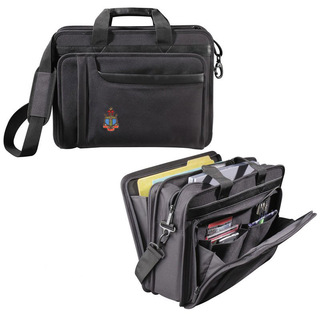 DISCOUNT-Delta Gamma Crest - Shield Briefcase Attache