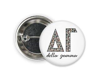 Delta Gamma Leopard Button