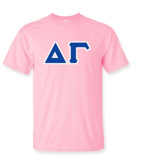 Delta Gamma Lettered Shirts