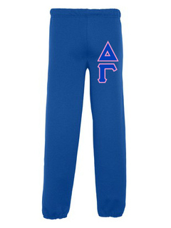 Delta Gamma Lettered Sweatpants