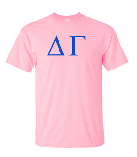 Delta Gamma Lettered Tee - $11.95! - MADE FAST!