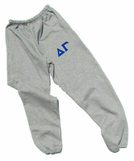 Delta Gamma Lettered Thigh Sweatpants