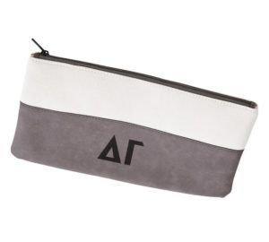 Delta Gamma Letters Cosmetic Bag