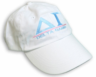Delta Gamma World Famous Line Hat