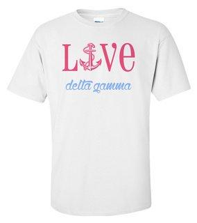 Delta Gamma Love Mascot T-Shirt