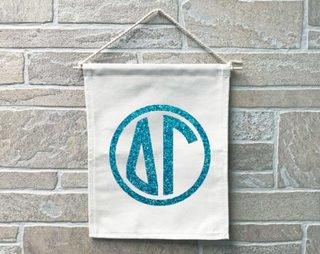 Delta Gamma Monogram Banner