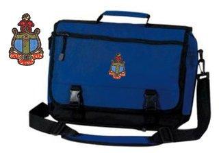 DISCOUNT-Delta Gamma Emblem Briefcase