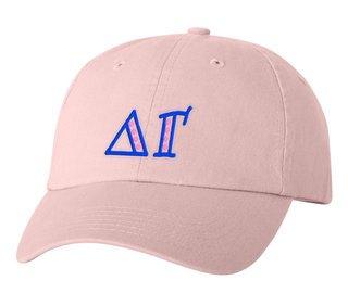 Delta Gamma Peppermint Polkadots Sorority Line Hat