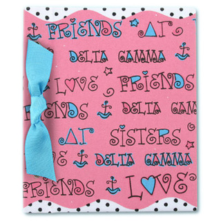 Delta Gamma Photo Album-closeout