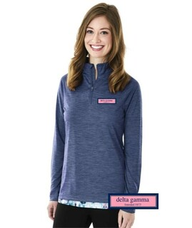 DISCOUNT-Delta gamma Preppy Patch Space Pullover