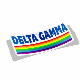 Delta Gamma Prism Decal Sticker