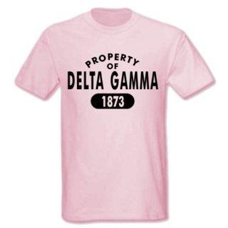 Delta Gamma Property of Est. Shirt