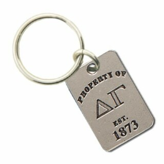 Delta Gamma Property Of Tag Keyring - CLOSEOUT