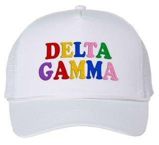 Delta Gamma Rainbow Trucker Hat