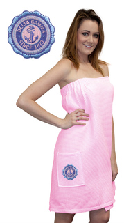 DISCOUNT-Delta Gamma Seal Towel Wrap