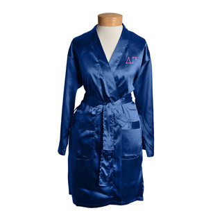 Delta Gamma Short Satin Robe