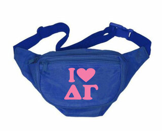 Delta Gamma Sorority Fanny Pack