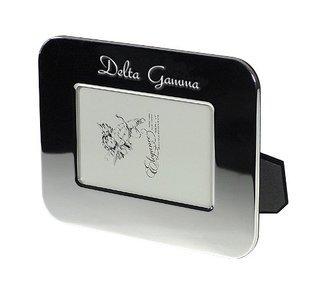 Delta Gamma Sorority Silver Script Frame