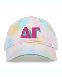 Delta Gamma Sorority Sorbet Tie Dyed Twill Hat