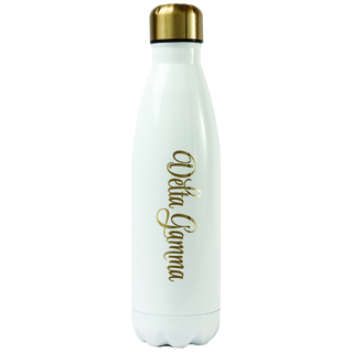Delta Gamma Stainless Steel Shimmer Water Bottles