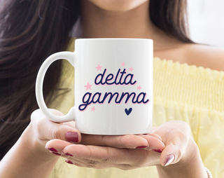 Delta Gamma Star Mug