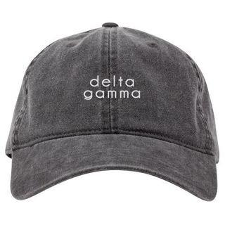 Delta Gamma Stonewashed Cotton Hats