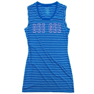 Delta Gamma Striped Tee Dress