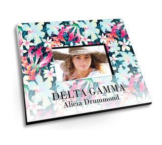 Delta Gamma Tropical Picture Frame