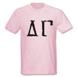Delta Gamma Type Greek Shirt