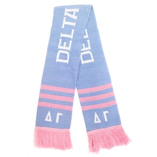 Delta Gamma Winter Scarf