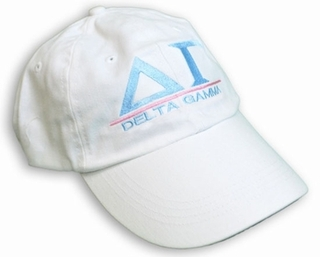 Delta Gamma World Famous Line Hat - MADE FAST!