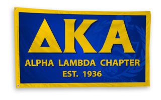 Delta Kappa Alpha 3 x 5 Flag