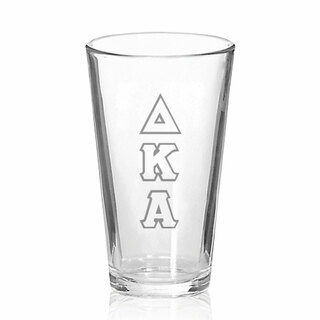 Delta Kappa Alpha Big Letter Mixing Glass