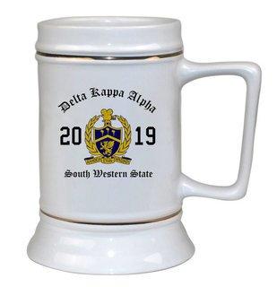 Delta Kappa Alpha Ceramic Crest & Year Ceramic Stein Tankard - 28 ozs!